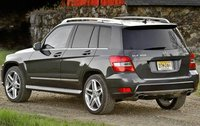 2011 Mercedes-Benz GLK-Class, Back Left View, exterior, manufacturer