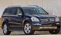 2011 Mercedes-Benz GL-Class, Front Right Quarter VIew, exterior, manufacturer