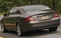 2011 Mercedes-Benz CLS-Class, Back Left Quarter View, exterior, manufacturer
