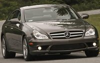 2011 Mercedes-Benz CLS-Class, Front Right Quarter View, exterior, manufacturer