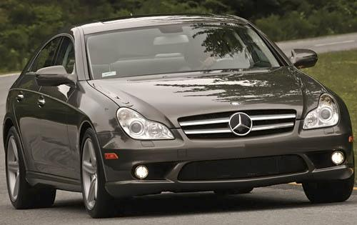 2011 Mercedes-Benz CLS-Class, Front Right Quarter View, manufacturer, exterior