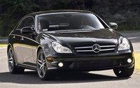 2009 Mercedes-Benz CLS-Class, Front View, exterior, manufacturer
