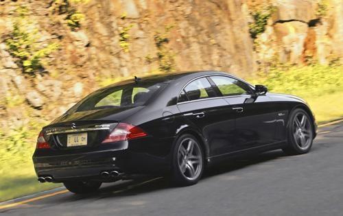 2011 Mercedes-Benz CLS-Class, Back Right Quarter View, exterior, manufacturer
