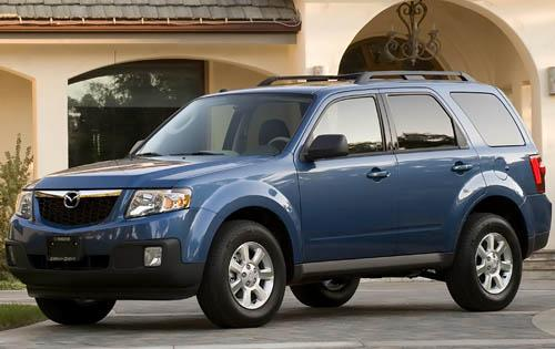 2011 Mazda Tribute, Front Left Quarter View, exterior, manufacturer