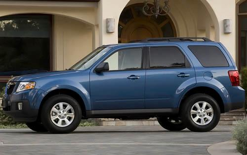 2011 Mazda Tribute, Left Side View, exterior, manufacturer