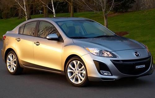 2011 Mazda MAZDA3, Front Right Quarter View, manufacturer, exterior
