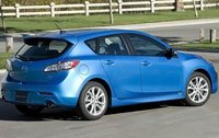 2011 Mazda MAZDA3, Back Right Quarter View, manufacturer, exterior