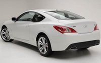 2011 Hyundai Genesis Coupe, Back Left Quarter View, exterior, manufacturer