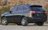 2011 Hyundai Veracruz, Back Left Quarter View, exterior, manufacturer