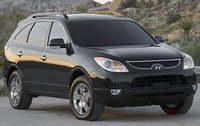 2011 Hyundai Veracruz, Front Right Quarter View, exterior, manufacturer