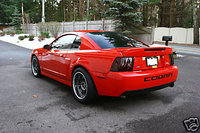 2003 Ford Mustang SVT Cobra 2 Dr 10th Anniversary Supercharged Coupe picture, exterior