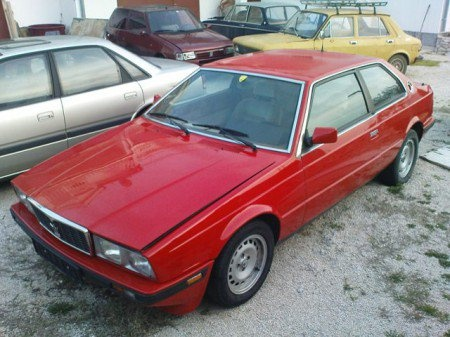 1982 Maserati Biturbo S
