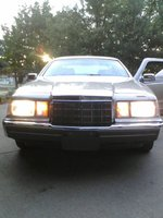 1988 Lincoln Mark VII, Front, exterior