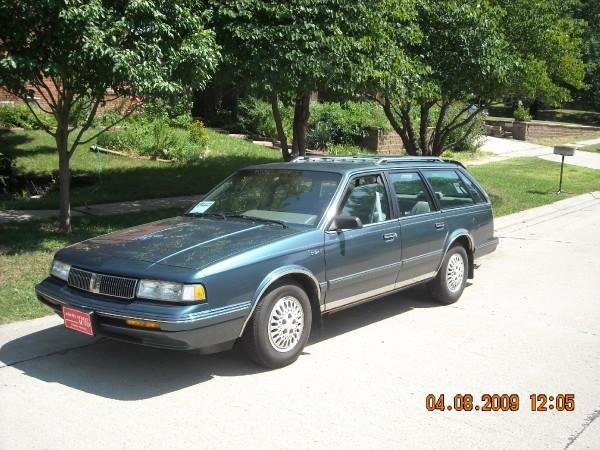 1993 Oldsmobile Cutlass Ciera 4 Dr S Cruiser Wagon, My new car 93 Olds