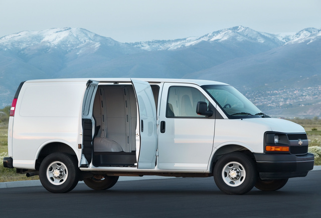 2011 Chevrolet Express, Copyright GM Corp., exterior, manufacturer, gallery_worthy