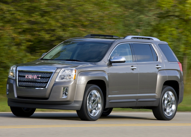 2011 GMC Terrain, Copyright GM Corp., exterior, manufacturer, gallery_worthy