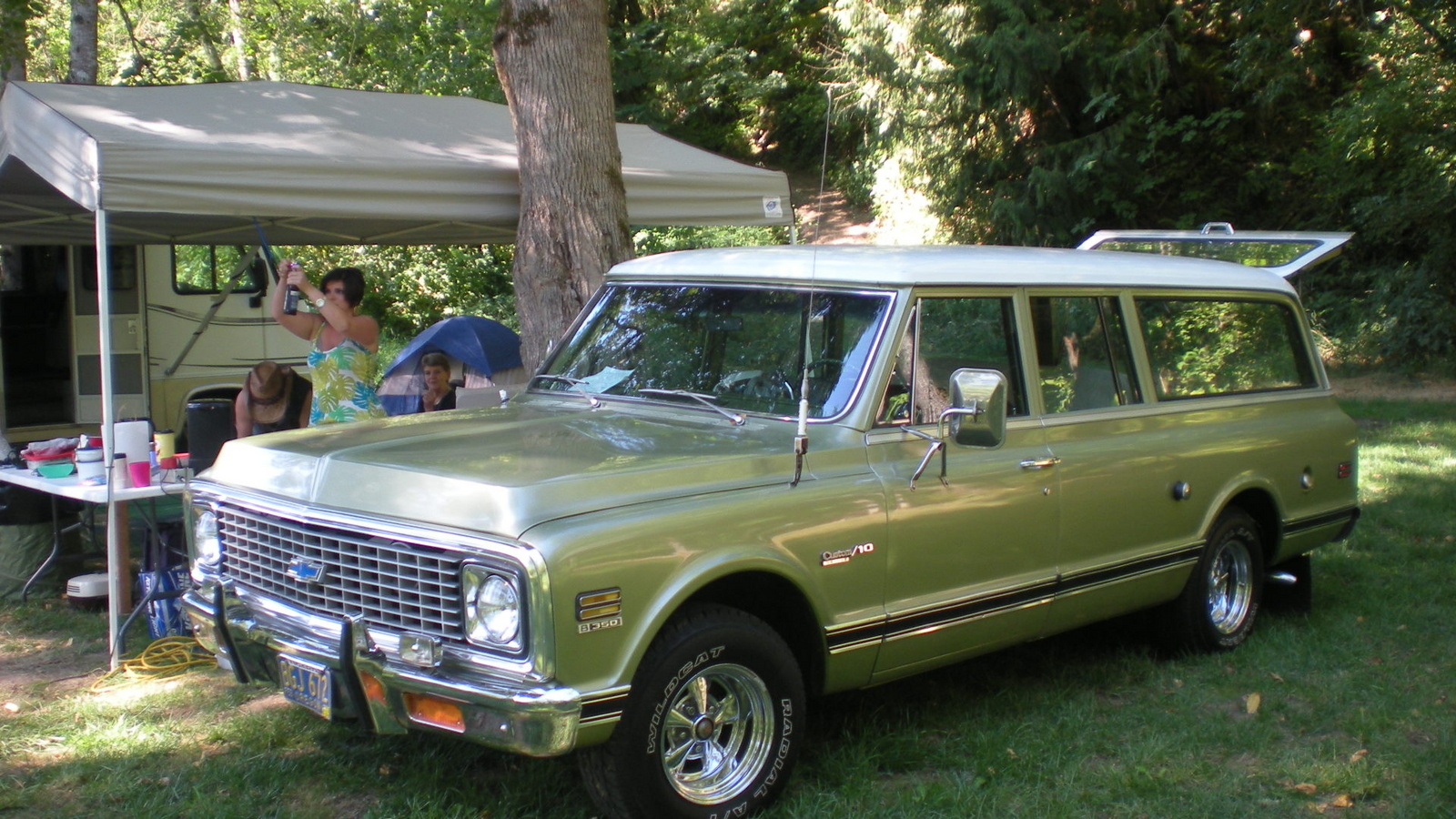 How Much Is My Car Worth Nada >> Chevrolet Suburban Questions - How much is my 1972 3-door