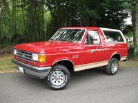 Picture of 1992 Ford Bronco Custom 4WD, exterior, gallery_worthy