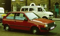 1983 Nissan Micra Overview