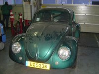 1970 Volkswagen Beetle, Still dirty...:-), exterior