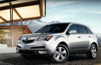 2011 Acura MDX, front quarter view , exterior, manufacturer