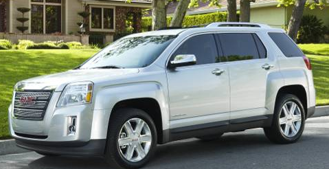2011 GMC Terrain, front three quarter view , exterior, manufacturer