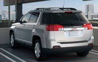 2011 GMC Terrain, back three quarter view , exterior, manufacturer