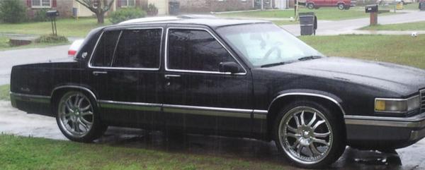 Picture of 1991 Cadillac DeVille Touring Sedan, exterior