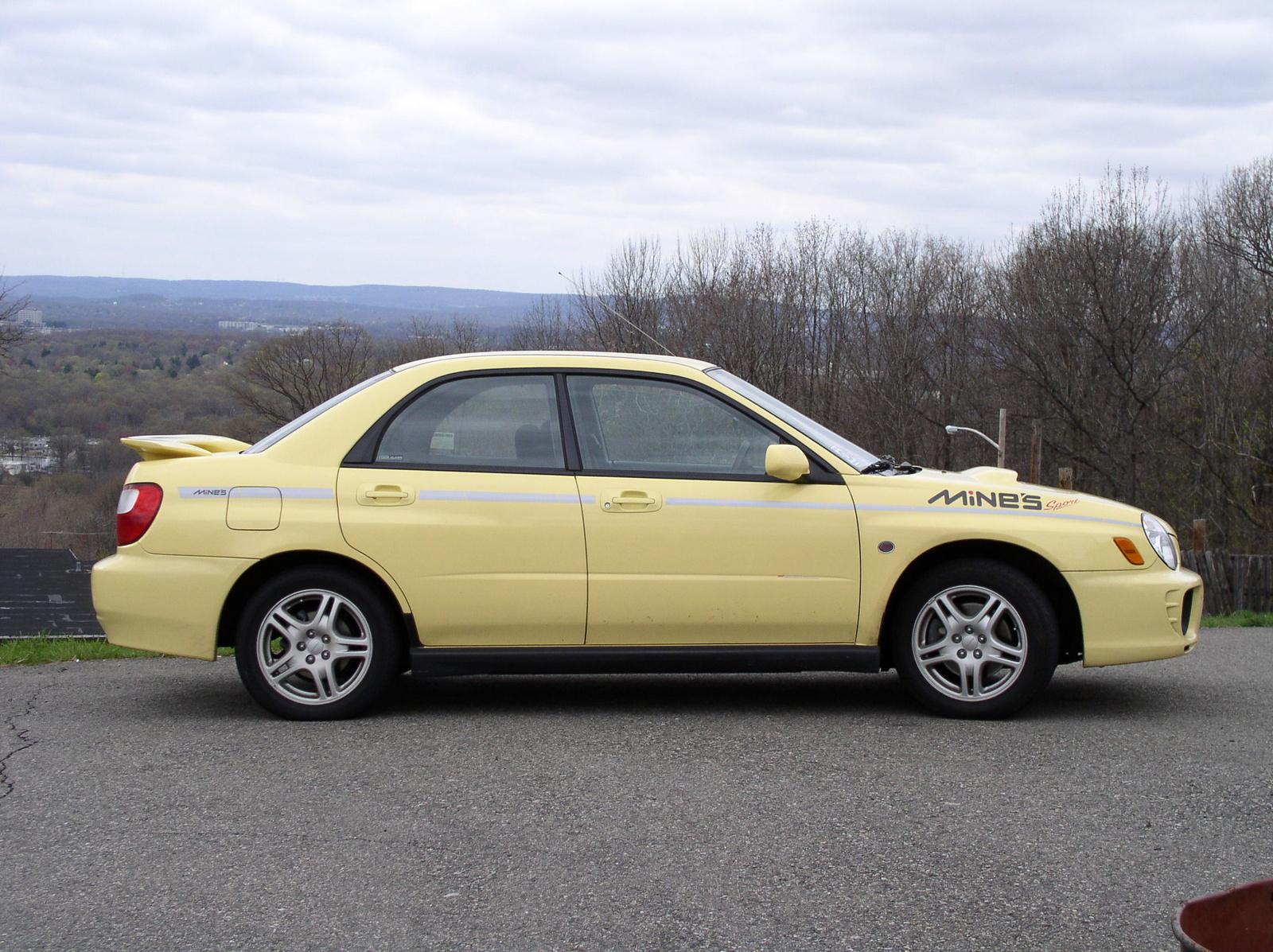 2002 Subaru Crosstrek Hybrid