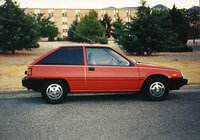 Picture of 1990 Mitsubishi Mirage RS Hatchback, exterior, gallery_worthy