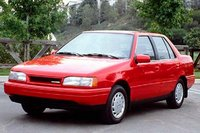 1986 Hyundai Excel Overview