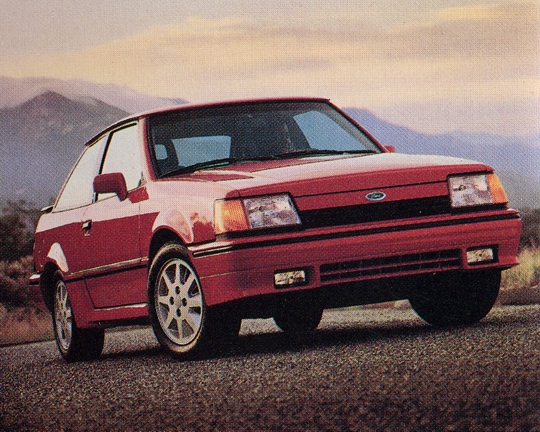 1990 Ford Escort 2 Dr GT Hatchback picture, exterior