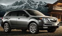 2011 Acura MDX, Front Right Quarter View, manufacturer, exterior