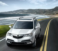 2011 Acura MDX, Front View, exterior, manufacturer