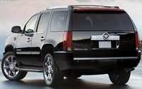 2011 Cadillac Escalade, Back Left Quarter View, exterior, manufacturer