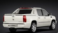 2011 Cadillac Escalade EXT, Back Right Quarter View, exterior, manufacturer