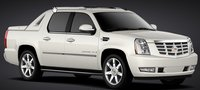 2011 Cadillac Escalade EXT, Front Right Quarter View, exterior, manufacturer