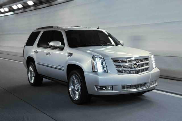 2011 Cadillac Escalade ESV, Front Right Quarter View, exterior, manufacturer