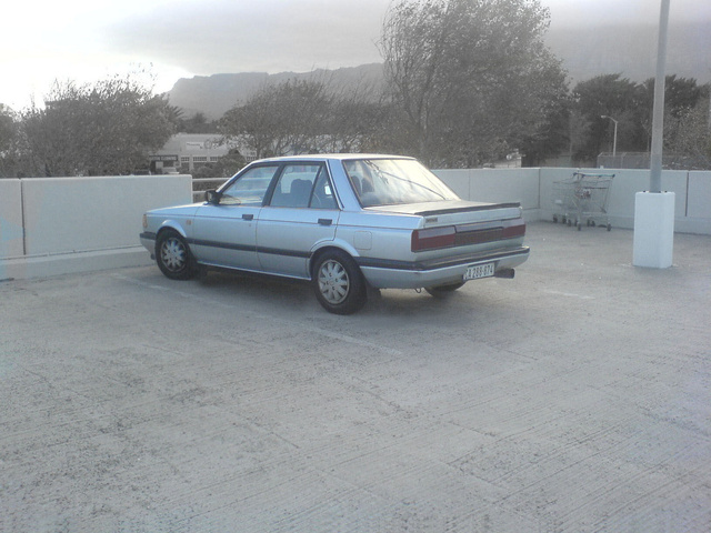 1990 Nissan Sentra XE, neat.. the way i want it, exterior