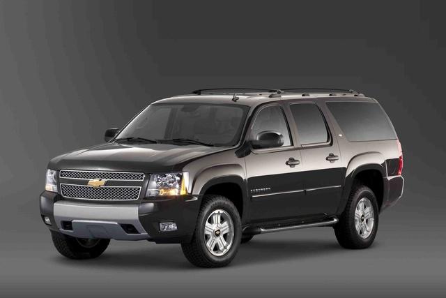 2011 Chevrolet Suburban, Front Left Quarter View, exterior, manufacturer