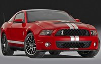 2011 Ford Shelby GT500, Front Right Quarter View, exterior, manufacturer