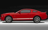 2011 Ford Shelby GT500, Left Side View, exterior, manufacturer, gallery_worthy