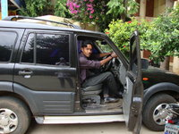 2005 Mahindra Scorpio, me in my ride, exterior, gallery_worthy