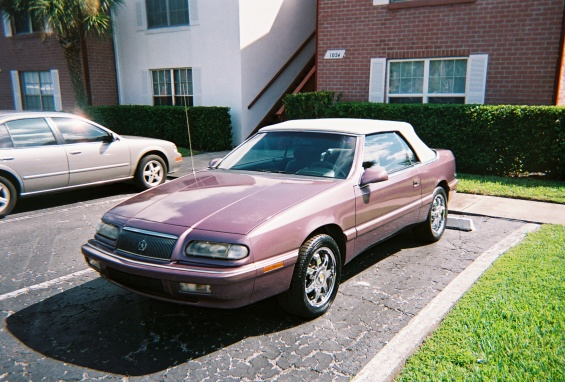 1994 Chrysler Lebaron Gtc. Picture of 1995 Chrysler