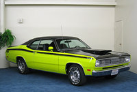 1971 Plymouth Duster, duster 340 curious yellow, exterior