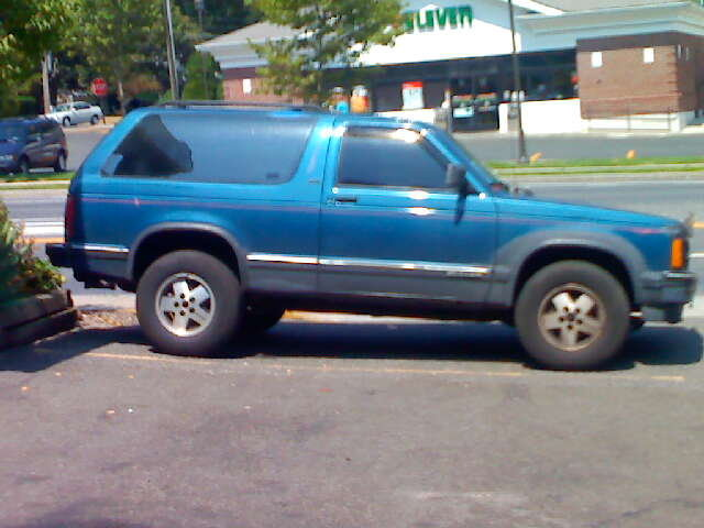 Picture of 1991 Chevrolet S-10 Blazer 2 Dr STD 4WD SUV