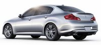 2011 Infiniti G25, Back Left Quarter View, manufacturer, exterior