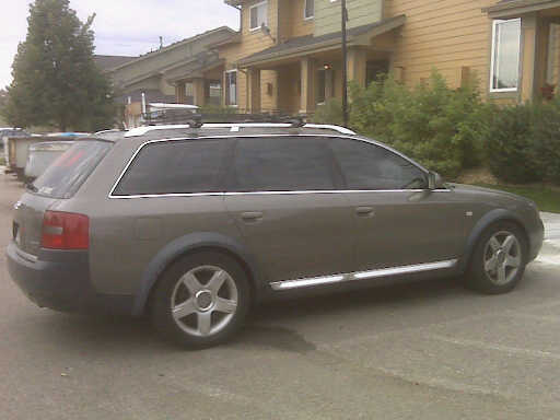 Audi Allroad Quattro 2001. Picture of 2001 Audi allroad