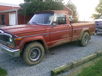 1979 Jeep Wagoneer, dirty, exterior