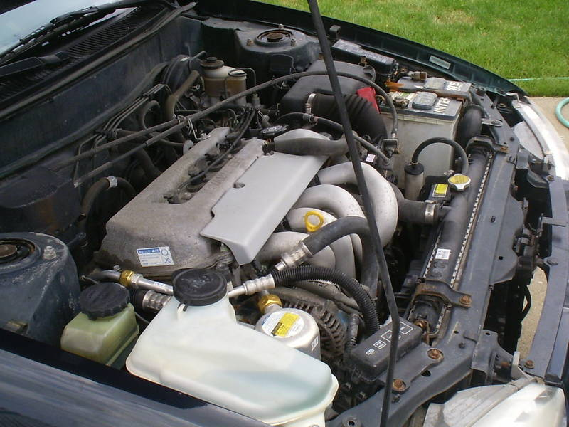 picture of 1999 chevrolet prizm 4 dr lsi sedan engine. Black Bedroom Furniture Sets. Home Design Ideas